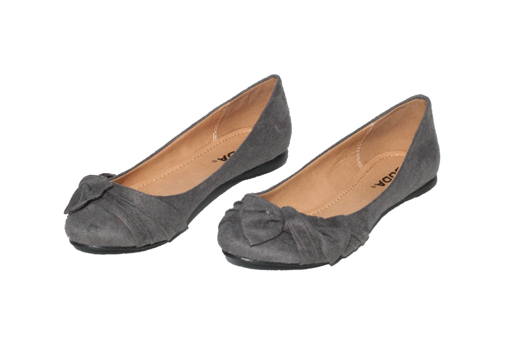 Grey Flat Shoes New Look