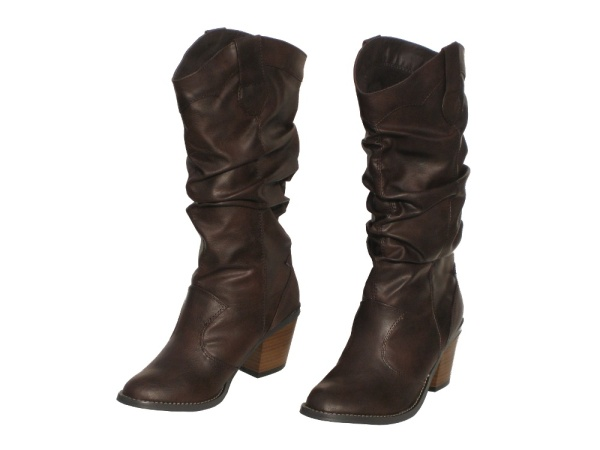 Girls Cowboy Boots Dark Brown Shoes for the Sole Shoes Stylish